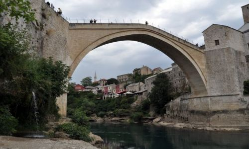BOśNIA i HERCEGOWINA / Bośnia i Hercegowina / Mostar / Stary Most