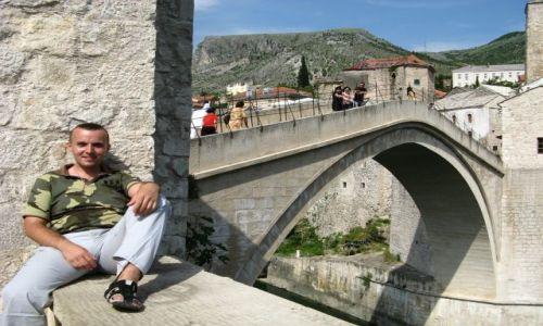 Zdjecie BOśNIA i HERCEGOWINA / Hercegowina / Mostar / Most w Mostarze