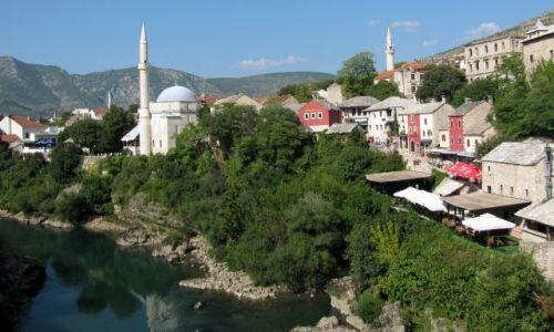 Zdjęcie BOśNIA i HERCEGOWINA / Bałkany / Mostar / piękno architektury
