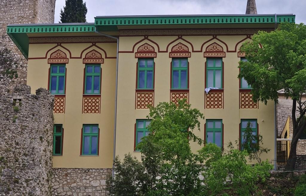 Zdjęcia: Mostar, Hercegowina, Mostar, szkoła koraniczna, BOśNIA i HERCEGOWINA