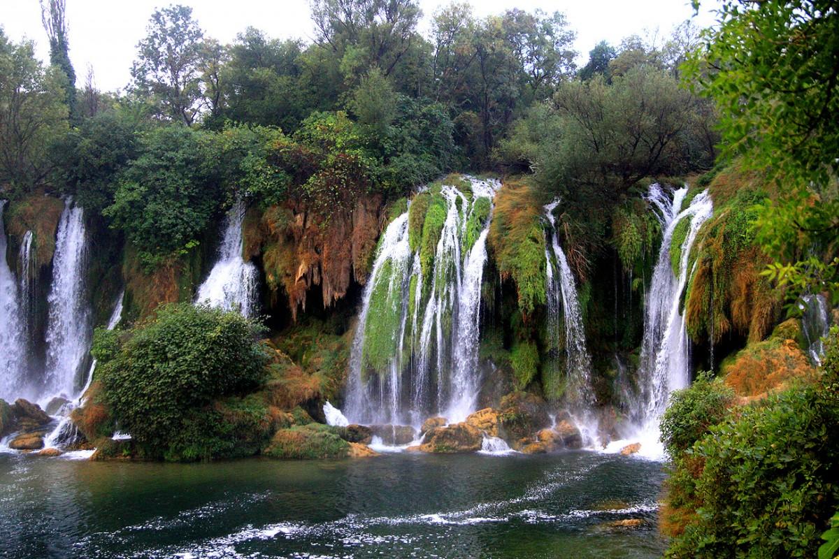 Zdjęcia: Wodospady Kravica, Wodospady Kravica, Żywioły przy Wodospadach Kravica , BOśNIA i HERCEGOWINA