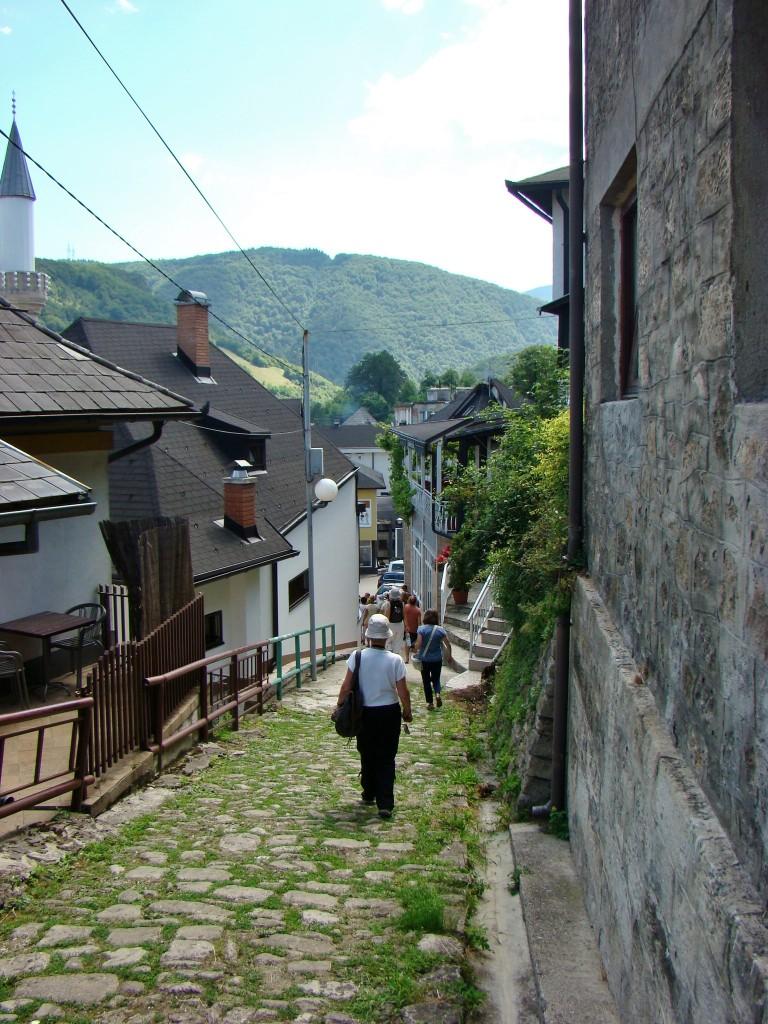 Zdjęcia: Jajce, centralna Bośnia, Uliczka w Jajce, BOśNIA i HERCEGOWINA