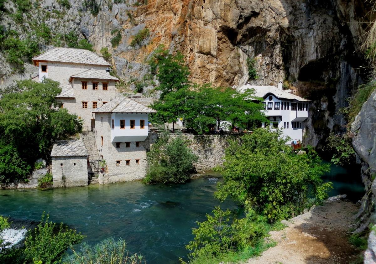 Zdjęcia: Blagaj, Hercegowina, Blagaj tekija..., BOśNIA i HERCEGOWINA