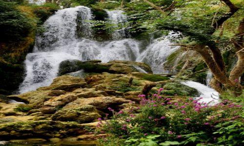 Zdjecie BOśNIA i HERCEGOWINA / - / w pobliżu miasteczka Ljubuški / wodospady Kravica...