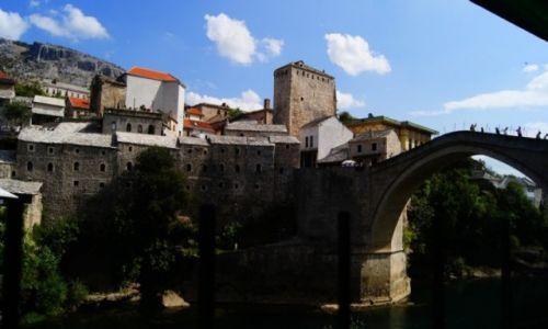 BOśNIA i HERCEGOWINA / Mostar / Most wpisany na listę UNESCO / TOYOTA KOBOS ADVENTURE 2014