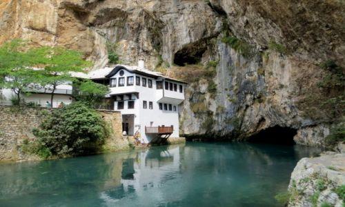 BOśNIA i HARCEGOWINA / Hercegowina / Blagaj / Tekija  - klasztor derwiszów