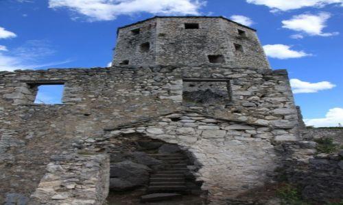 Zdjecie BOśNIA i HERCEGOWINA / Południowo-zachodnia Bośnia i Hercegowina / Počitelj / Ruiny twierdzy