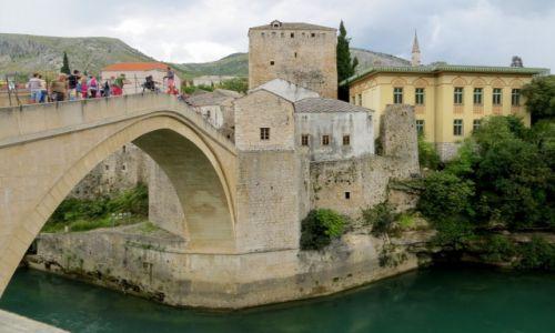 Zdjecie BOśNIA i HERCEGOWINA / - / Mostar / spojrzenie w dół...