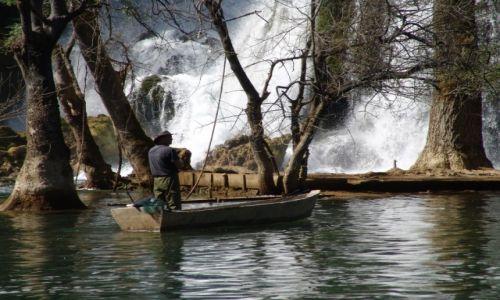 Zdjęcie BOśNIA i HERCEGOWINA / bośnia  / okolice medjugorjii / wodospady w bośni
