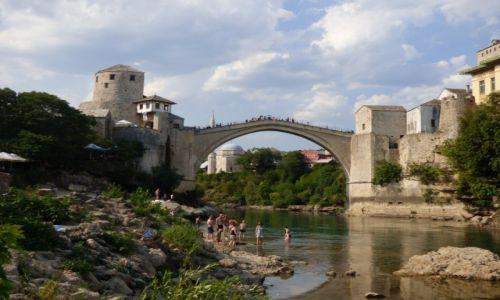 Zdjecie BOśNIA i HERCEGOWINA / Mostar / Mostar / Stary Most