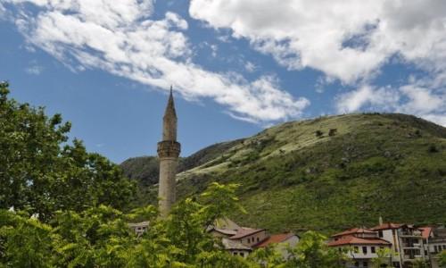 Zdjęcie BOśNIA i HERCEGOWINA / Hercegowina / Mostar / Mostar, widok na okolicę