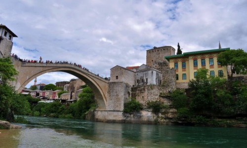 BO�NIA i HARCEGOWINA / Hercegowina / Mostar / Mostar, most z XVI w.
