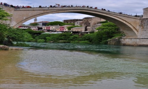 Zdjęcie BOśNIA i HERCEGOWINA / Hercegowina / Mostar / Mostar, most z XVI w.