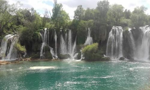 Zdjęcie BOśNIA i HERCEGOWINA / Hercegowina  / Kravica / Kravica, wodospady