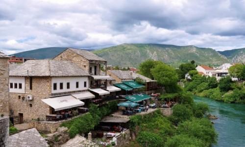 Zdjecie BO�NIA i HARCEGOWINA / Hercegowina / Mostar / Mostar, widok n