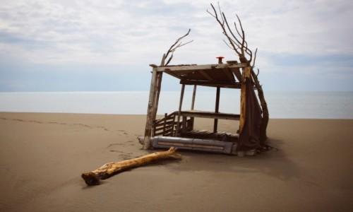Zdjecie CZARNOGÓRA / Doni Stoj / Velika Plaza / Domek na plaży
