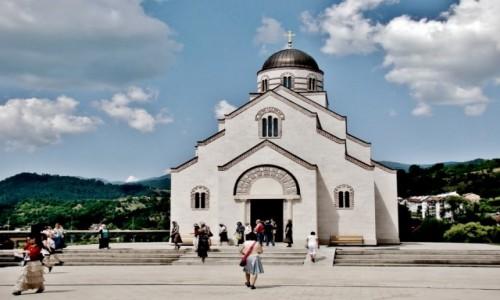 Zdjęcie BOśNIA i HERCEGOWINA / Republika Serbska / Wiszegrad / Wiszegrad-Kamengrad-cerkiew św.cara Łazarza