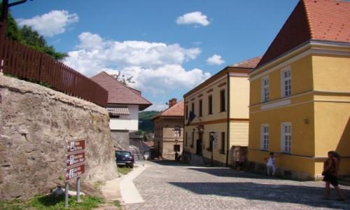 Zdjęcie BOśNIA i HARCEGOWINA / centralna Bośnia / Jajce / Jajce-uliczka