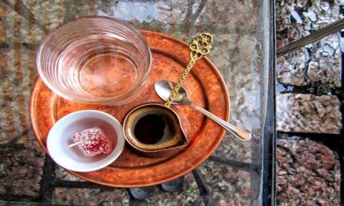 Zdjecie BOśNIA i HARCEGOWINA / - / Sarajewo / kawa w deszczu