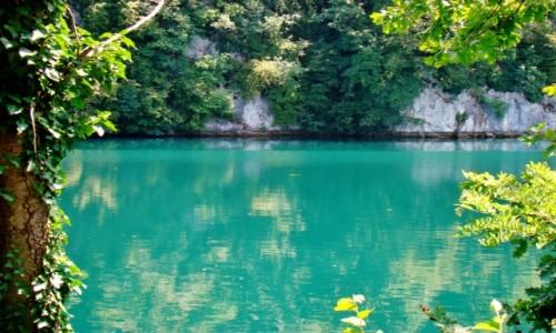 Zdjecie BOśNIA i HERCEGOWINA / centralna Bośnia / Jajce / Jajce-rzeka Pliva