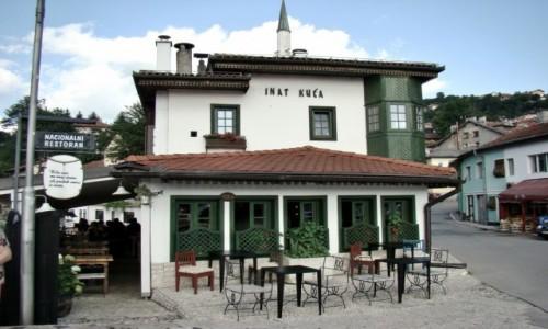 Zdjecie BOśNIA i HERCEGOWINA / Republika Serbska / Sarajewo / Sarajewo-Inat Kuca/przekorny dom/