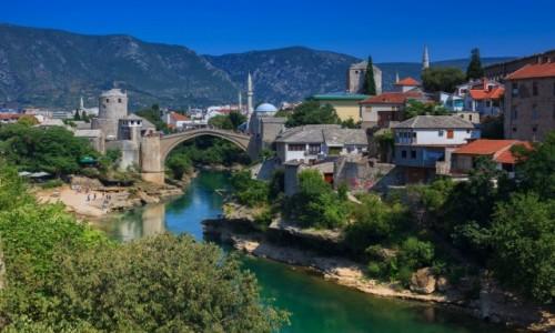 Zdjecie BOśNIA i HARCEGOWINA / Mostar / Most w Mostarze / Most w Mostarze