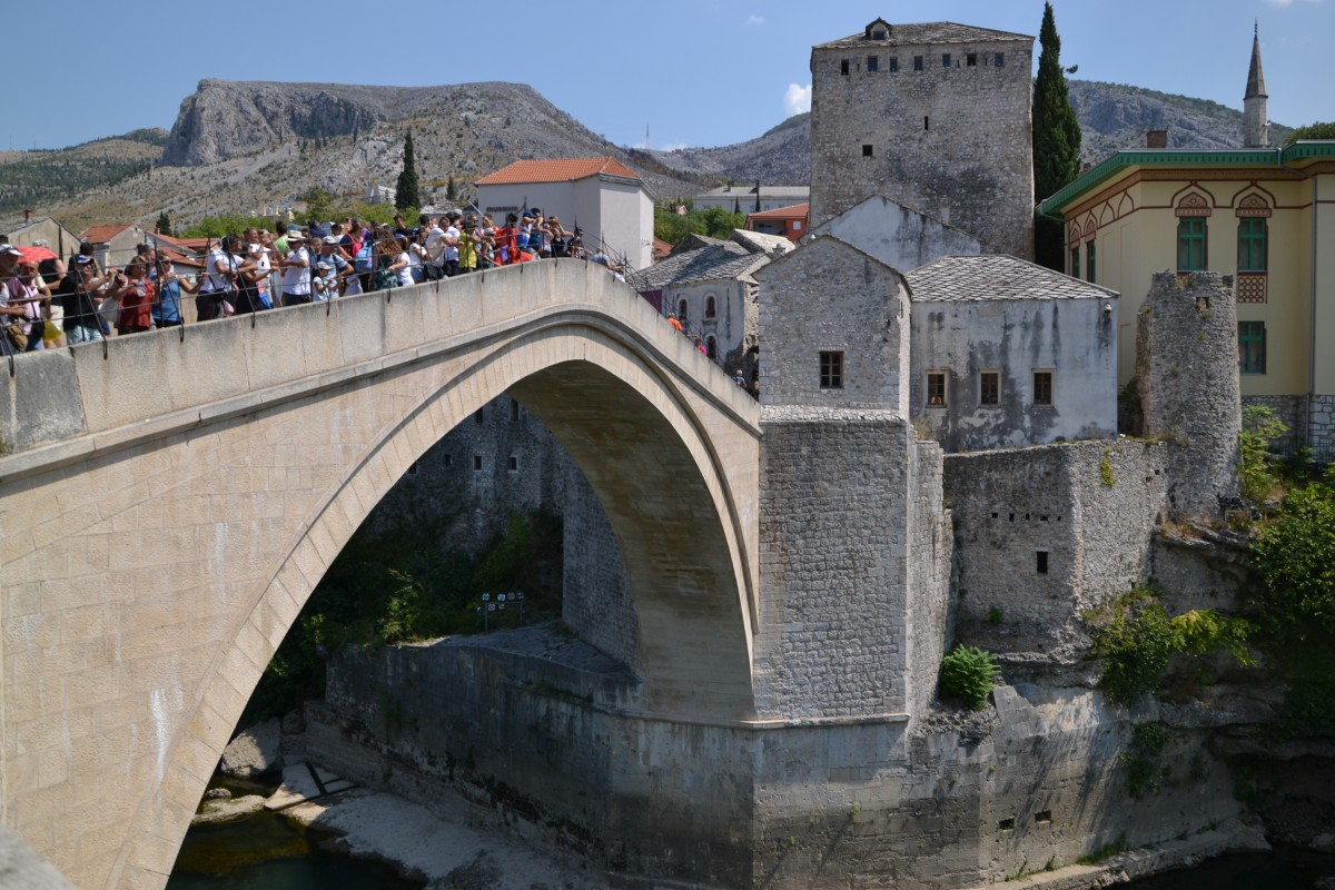 Zdjęcia: Mostar, Stary most, BOśNIA i HERCEGOWINA