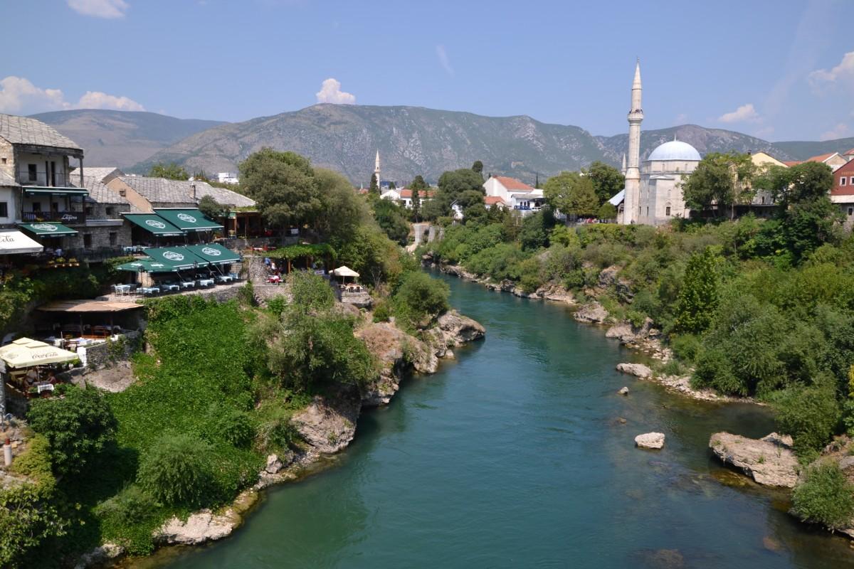 Zdjęcia: Mostar, Neretwa, BOśNIA i HERCEGOWINA