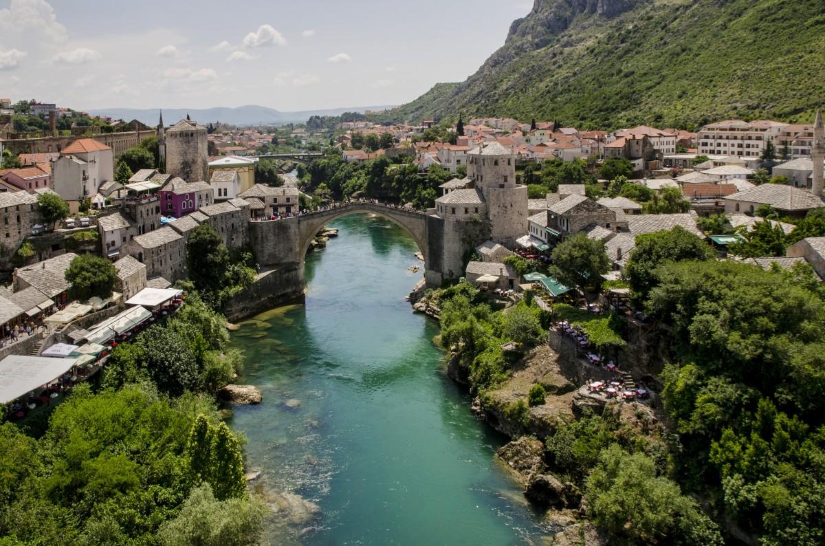 Zdjęcia: Mostar, Mostar, Dwa światy, BOśNIA i HERCEGOWINA