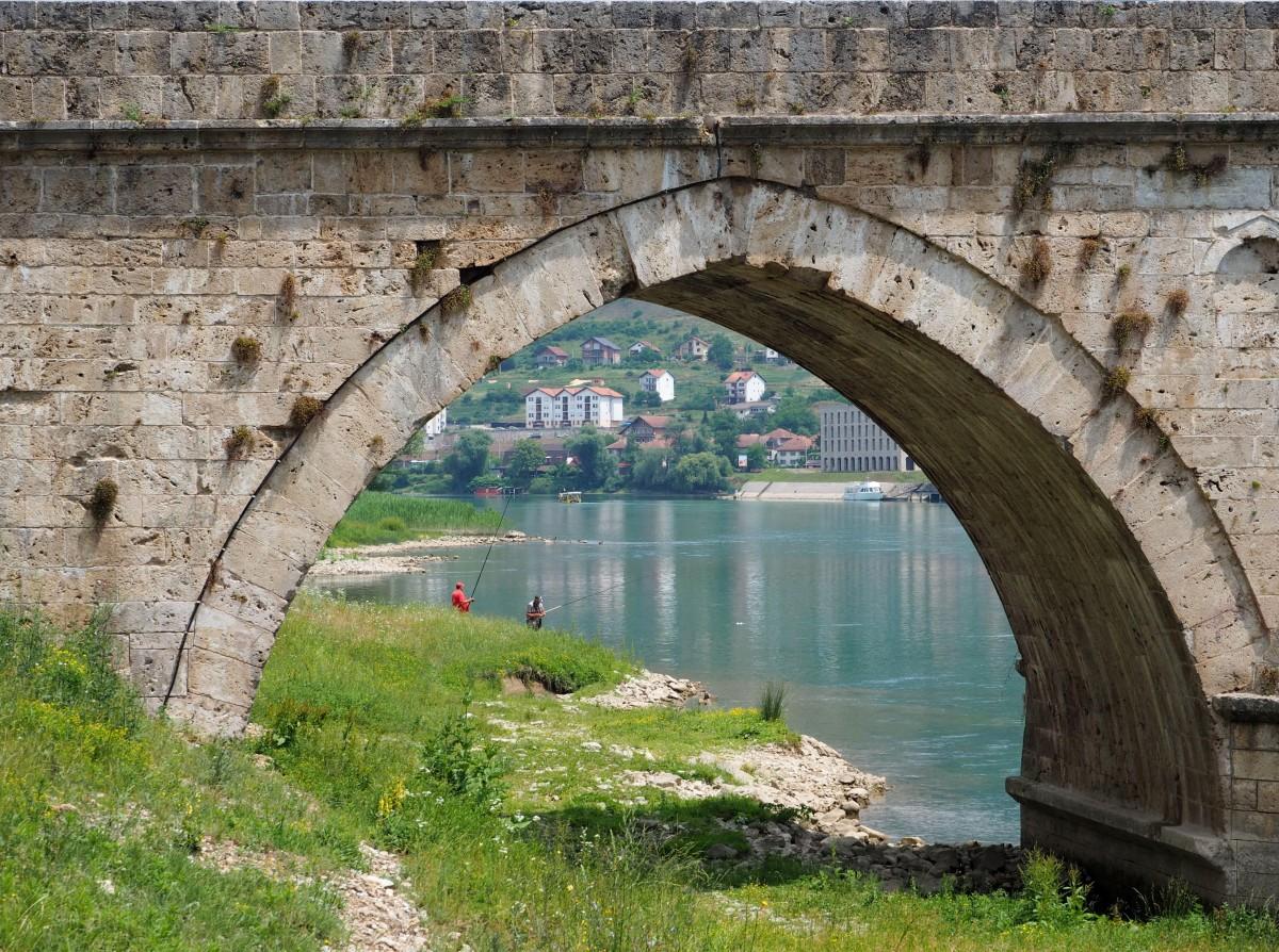 Zdjęcia: Višegrad, na rybach..., BOśNIA i HERCEGOWINA