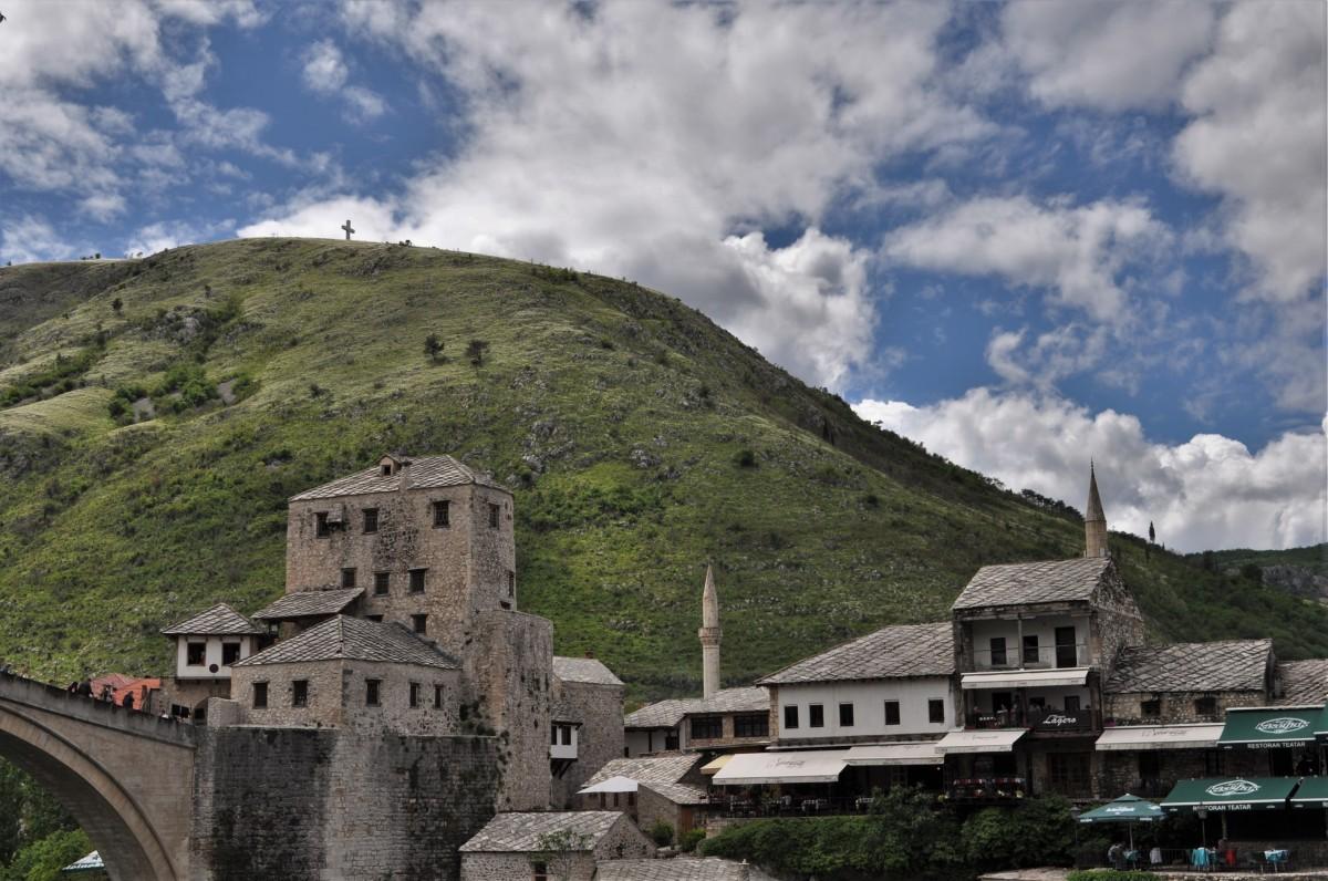 Zdjęcia: Mostar, Kanton hercegowińsko-neretwiański, Mostar, most, BOśNIA i HERCEGOWINA