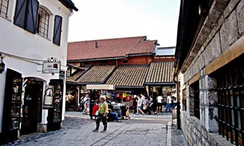 Zdjecie BOśNIA i HERCEGOWINA / Republika Serbska / Sarajewo / Sarajewo-Bascarsija/starówka/