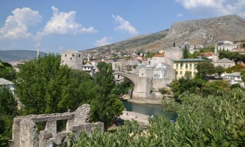 BOśNIA i HERCEGOWINA / - / Mostar / Widok na most