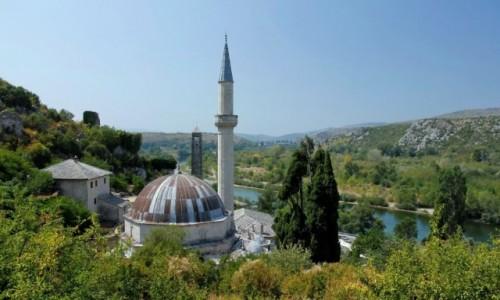 Zdjecie BOśNIA i HERCEGOWINA / Hercegowina / Počitelj / Meczet Hadži-Alija
