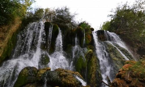 BOśNIA i HERCEGOWINA / - / wzdłuż rzeki Trebiżat / Wodospady Kravica