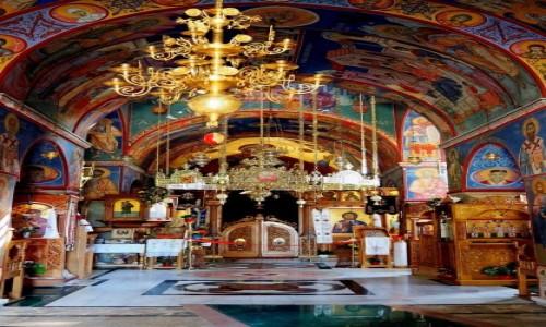 Zdjecie BOśNIA i HERCEGOWINA / - / Monastyr Tvrdoš, niedaleko od drogi Mostar-Trebinje / w cerkwi (1)