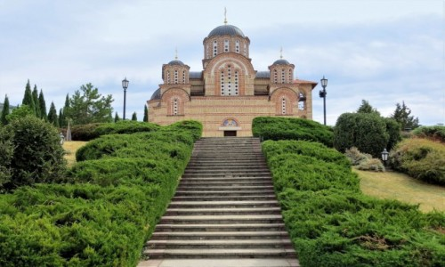 Zdjecie BOśNIA i HERCEGOWINA / Republika Serbska / Trebinje / monaster Gračanica...