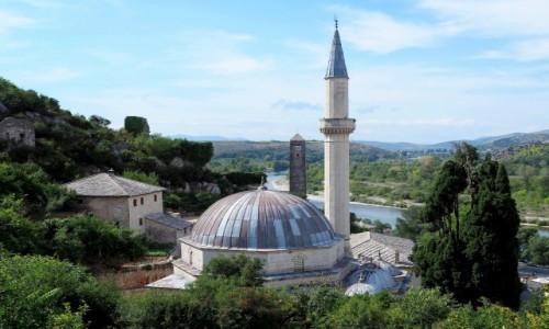 BOśNIA i HERCEGOWINA / Hercegowina / Pocitelj / meczet Hadżi Alija...