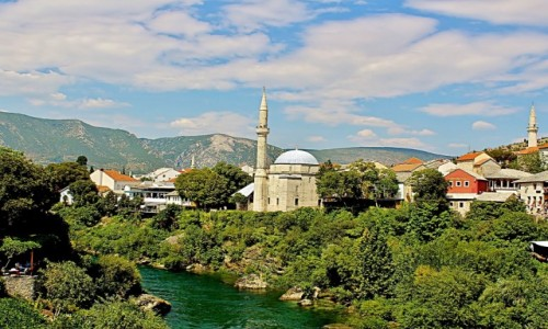 Zdjecie BOśNIA i HERCEGOWINA / Hercegowina / Mostar / Tradycyjne mostarskie