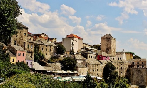 Zdjecie BOśNIA i HERCEGOWINA / Hercegowina / Mostar / Stare Miasto