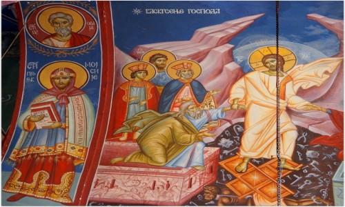 Zdjecie BOśNIA i HERCEGOWINA / Republika Serbska / Monastyr Tvrdoš / z olśniewającą precyzją.....