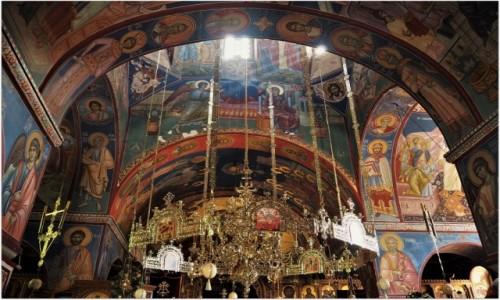 Zdjecie BOśNIA i HERCEGOWINA / Republika Serbska / okolice Trebinje, monastyr Tvrdos / cerkiewne wnętrza...