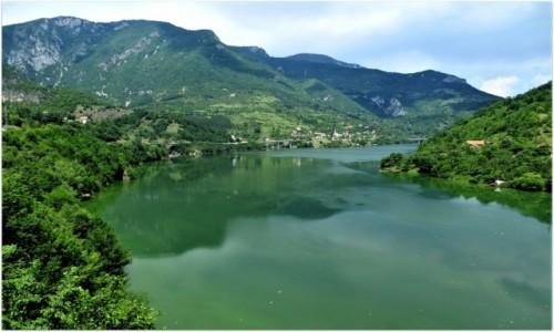 Zdjecie BOśNIA i HERCEGOWINA / - / trasa Visegrad - Gorazdze / Drina...