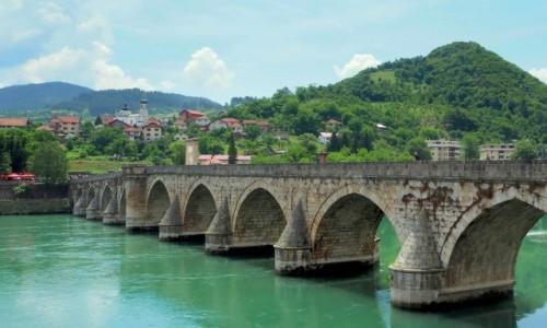 Zdjęcie BOśNIA i HERCEGOWINA / - / Višegrad / most Mehmed - paše Sokolovića...
