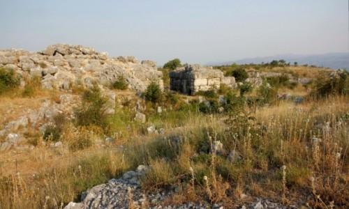 Zdjecie BOśNIA i HERCEGOWINA / Hercegowina-Neretwa / Stolac / Daorson - ruiny starożytnego miasta Ilirów