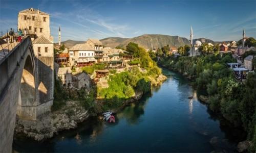Zdjecie BOśNIA i HERCEGOWINA / Mostar / Mostar / Na Starym Moście