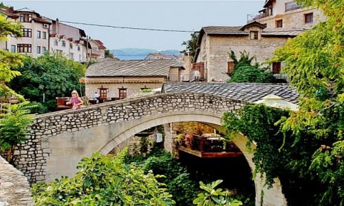 Zdjecie BOśNIA i HERCEGOWINA / Hercegowina / Mostar / Krzywy Most/Kriva Cuprija/