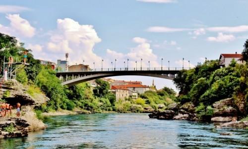 Zdjecie BOśNIA i HERCEGOWINA / Hercegowina / Mostar / Lučki most