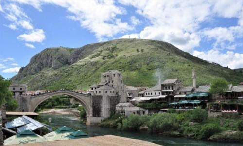 Zdjecie BOśNIA i HERCEGOWINA / Kanton hercegowińsko-neretwiański / Mostar / Mostar, most