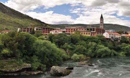 BOśNIA i HERCEGOWINA / Kanton hercegowińsko-neretwiański / Mostar / Mostar, zakamarki